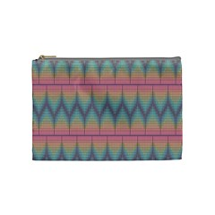 Pattern Background Texture Colorful Cosmetic Bag (medium)