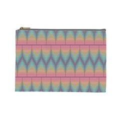 Pattern Background Texture Colorful Cosmetic Bag (large)