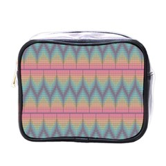 Pattern Background Texture Colorful Mini Toiletries Bags