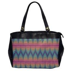 Pattern Background Texture Colorful Office Handbags