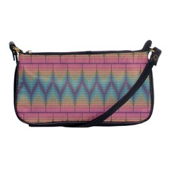 Pattern Background Texture Colorful Shoulder Clutch Bags