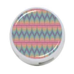 Pattern Background Texture Colorful 4-Port USB Hub (Two Sides)