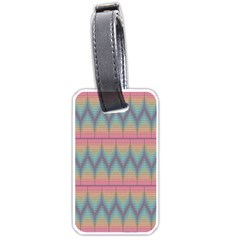 Pattern Background Texture Colorful Luggage Tags (One Side)