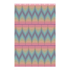 Pattern Background Texture Colorful Shower Curtain 48  X 72  (small)