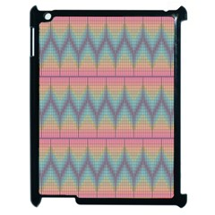 Pattern Background Texture Colorful Apple iPad 2 Case (Black)