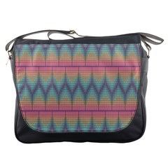 Pattern Background Texture Colorful Messenger Bags