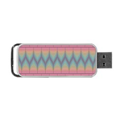 Pattern Background Texture Colorful Portable USB Flash (Two Sides)