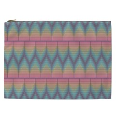 Pattern Background Texture Colorful Cosmetic Bag (XXL)