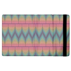 Pattern Background Texture Colorful Apple iPad 3/4 Flip Case