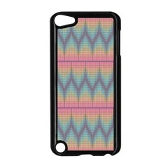 Pattern Background Texture Colorful Apple iPod Touch 5 Case (Black)