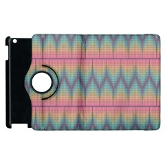 Pattern Background Texture Colorful Apple iPad 3/4 Flip 360 Case