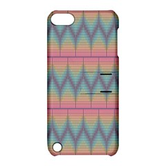 Pattern Background Texture Colorful Apple Ipod Touch 5 Hardshell Case With Stand