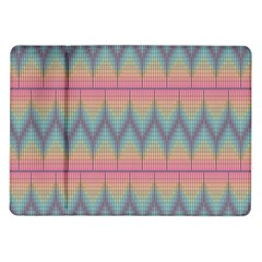 Pattern Background Texture Colorful Samsung Galaxy Tab 10.1  P7500 Flip Case