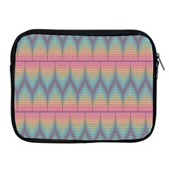 Pattern Background Texture Colorful Apple iPad 2/3/4 Zipper Cases