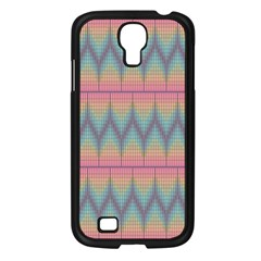 Pattern Background Texture Colorful Samsung Galaxy S4 I9500/ I9505 Case (Black)