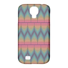Pattern Background Texture Colorful Samsung Galaxy S4 Classic Hardshell Case (pc+silicone)
