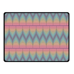 Pattern Background Texture Colorful Double Sided Fleece Blanket (small)