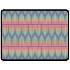 Pattern Background Texture Colorful Double Sided Fleece Blanket (Large)