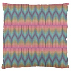 Pattern Background Texture Colorful Large Flano Cushion Case (One Side)