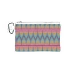 Pattern Background Texture Colorful Canvas Cosmetic Bag (S)