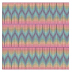 Pattern Background Texture Colorful Large Satin Scarf (square)