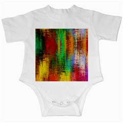 Color Abstract Background Textures Infant Creepers