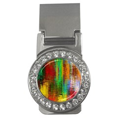 Color Abstract Background Textures Money Clips (CZ)
