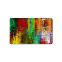 Color Abstract Background Textures Magnet (name Card)