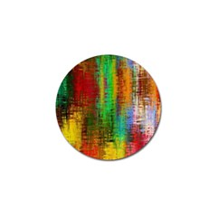 Color Abstract Background Textures Golf Ball Marker (4 pack)