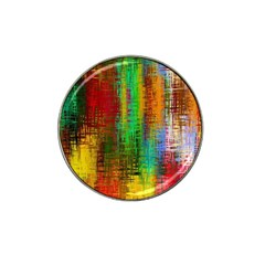 Color Abstract Background Textures Hat Clip Ball Marker (10 pack)