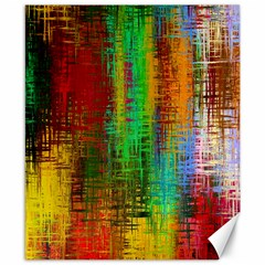 Color Abstract Background Textures Canvas 8  X 10
