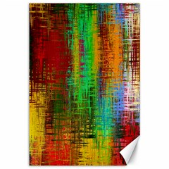 Color Abstract Background Textures Canvas 12  x 18