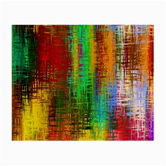 Color Abstract Background Textures Small Glasses Cloth (2-Side)