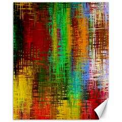 Color Abstract Background Textures Canvas 11  X 14