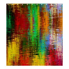 Color Abstract Background Textures Shower Curtain 66  x 72  (Large)