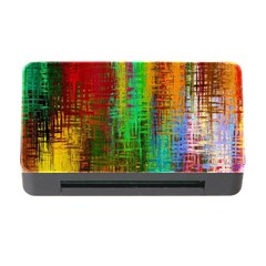 Color Abstract Background Textures Memory Card Reader With Cf