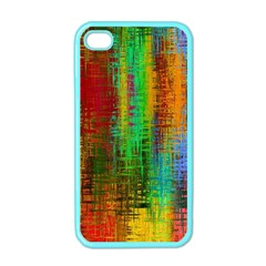 Color Abstract Background Textures Apple iPhone 4 Case (Color)