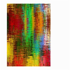 Color Abstract Background Textures Small Garden Flag (Two Sides)