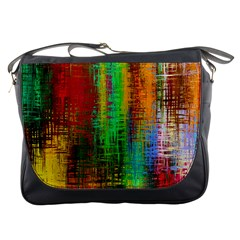 Color Abstract Background Textures Messenger Bags