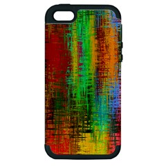 Color Abstract Background Textures Apple iPhone 5 Hardshell Case (PC+Silicone)