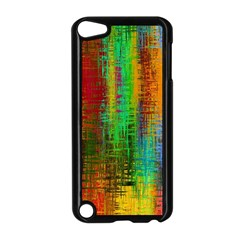 Color Abstract Background Textures Apple iPod Touch 5 Case (Black)