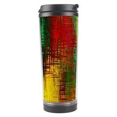 Color Abstract Background Textures Travel Tumbler