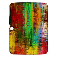 Color Abstract Background Textures Samsung Galaxy Tab 3 (10.1 ) P5200 Hardshell Case