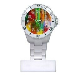 Color Abstract Background Textures Plastic Nurses Watch