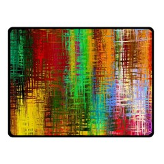 Color Abstract Background Textures Double Sided Fleece Blanket (small)
