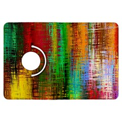 Color Abstract Background Textures Kindle Fire HDX Flip 360 Case