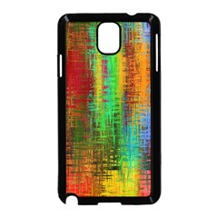 Color Abstract Background Textures Samsung Galaxy Note 3 Neo Hardshell Case (Black)
