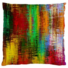 Color Abstract Background Textures Standard Flano Cushion Case (Two Sides)