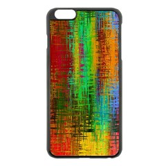 Color Abstract Background Textures Apple iPhone 6 Plus/6S Plus Black Enamel Case