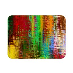 Color Abstract Background Textures Double Sided Flano Blanket (Mini)